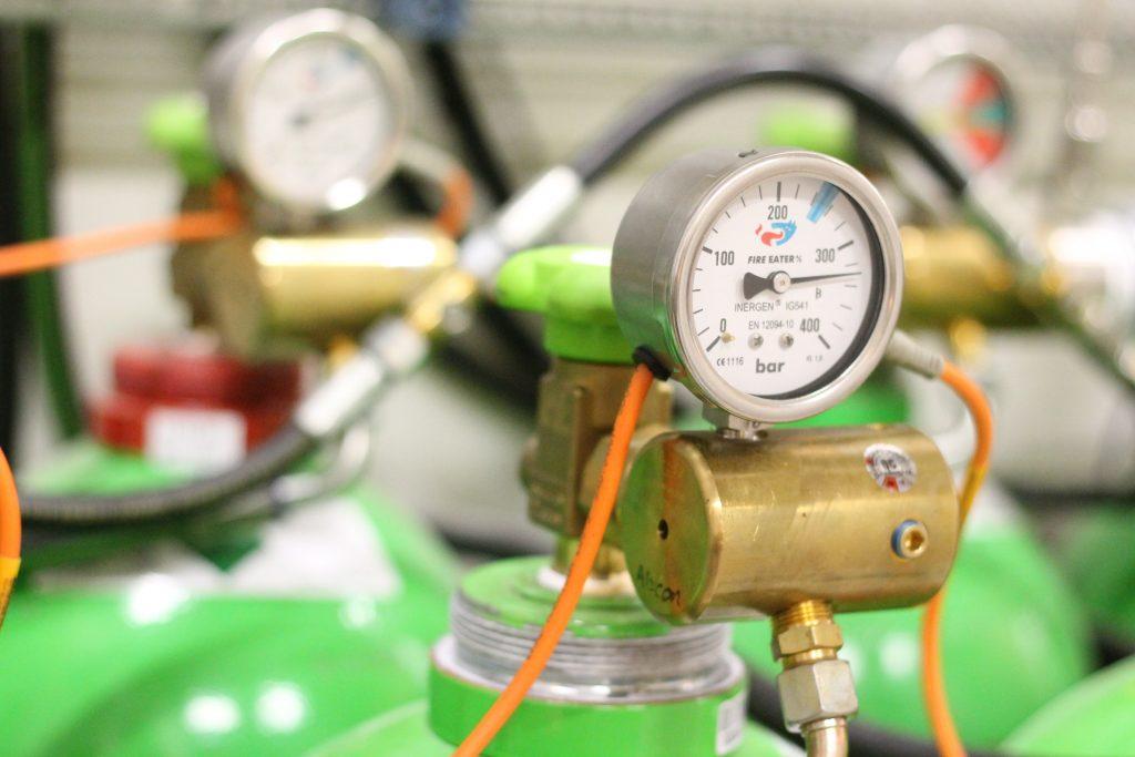 Inergen IG 1541 Inert Gas Fire Suppression System