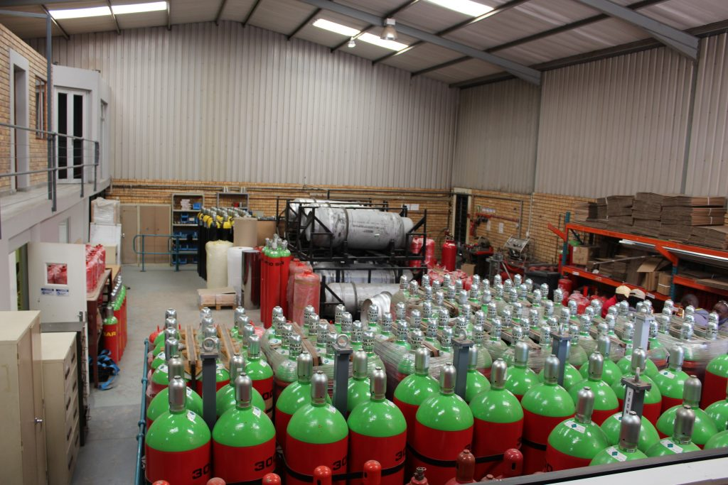 Fire Suppression Cylinders
