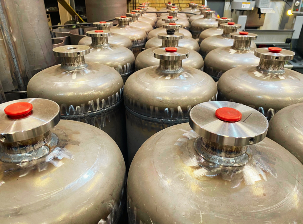 Gas Cylinder Refill