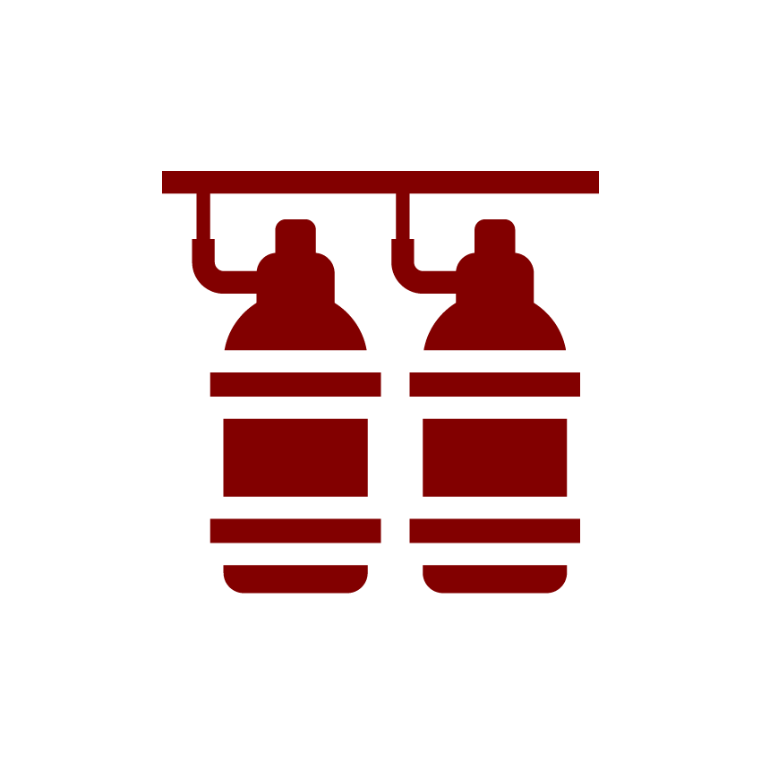 Engineered Fire Suppression System Icon