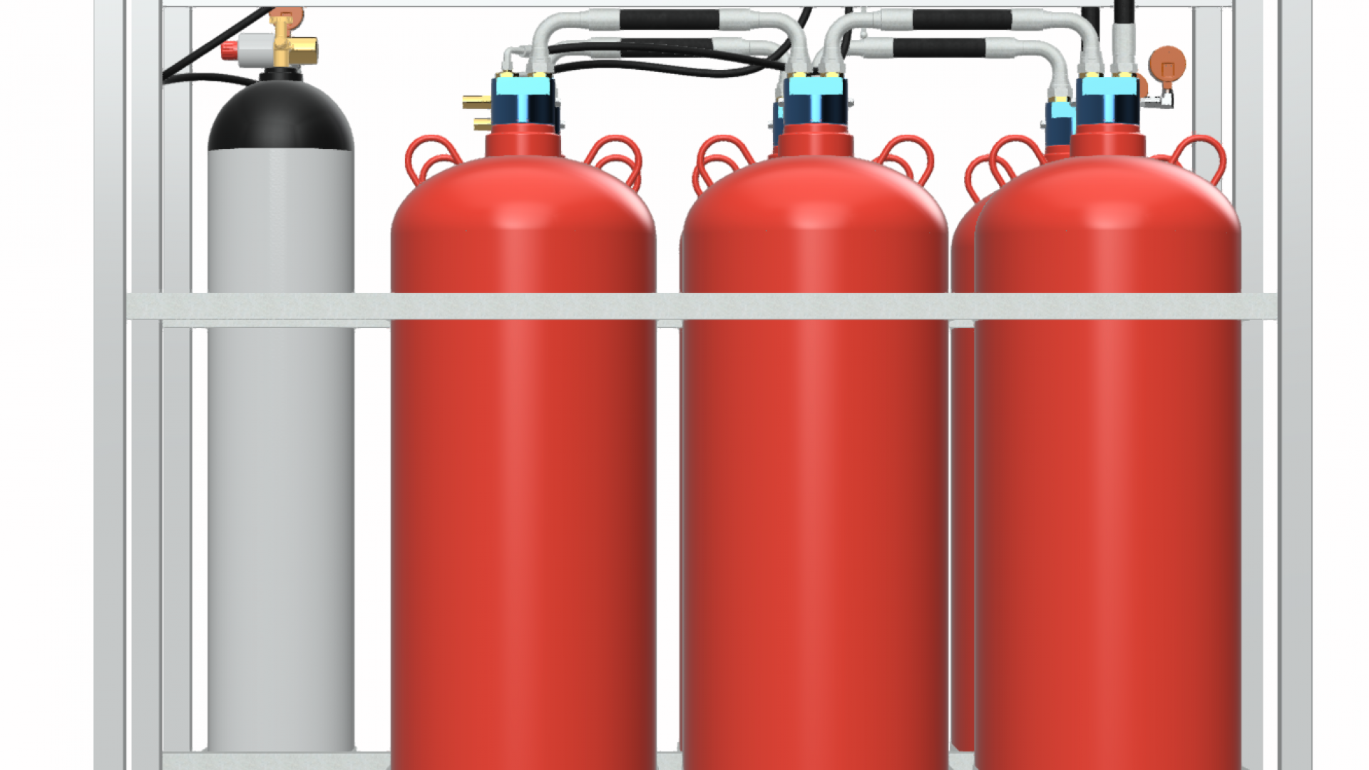 Low Pressure Water Mist Fire Suppression Systems
